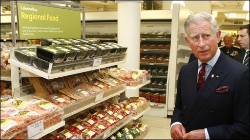 Prince Charles – the food critic, praises social entrepreneurs