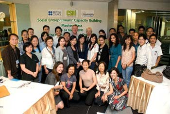 i-genius Academy holds first social entrepreneur course in Thailand