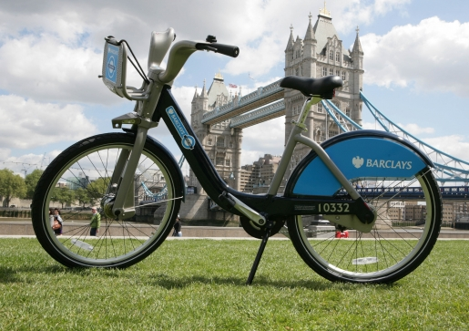 Velib This: London Cycle Hire