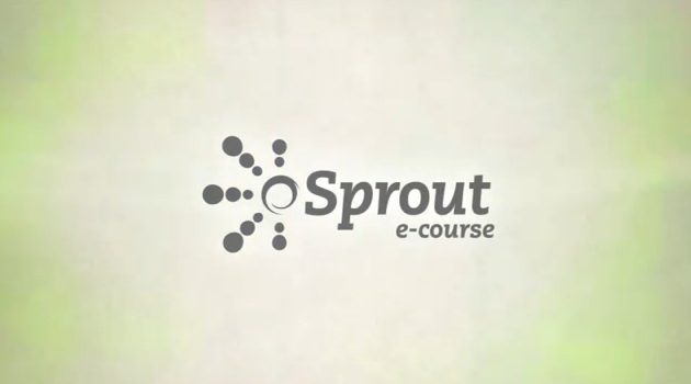 Sprout E-course & The Pearson Fellowship for Social Innovation
