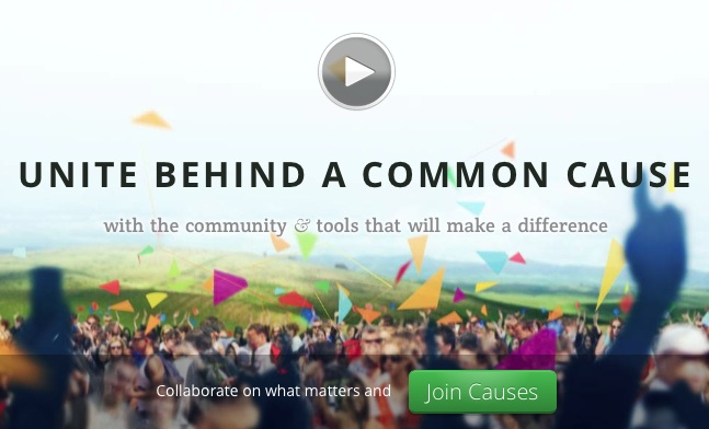 Causes Re-launched as a Social Network