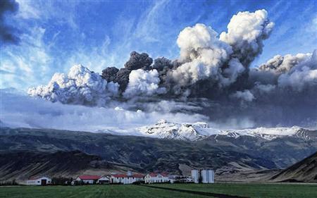 Eyjafjallajokull Erupts - social and environmental chaos follows