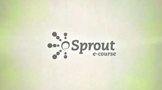 Sprout E-course & The Pearson Fellowship for Social Innovation