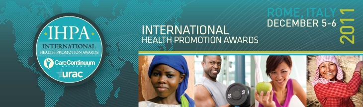 International Health Awards Rome 2011